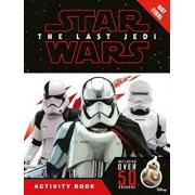 Star Wars The Last Jedi Activity Book with Stickers, Hardcover/***