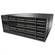 Cisco Systems Catalyst WS-C3650-48FQ-S switch di rete Gestito L3 Gigabit Ethernet (10/100/1000) Nero 1U Supporto Power over Ethernet (PoE)