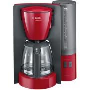Cafetiera Bosch TKA6A044, 1.2 l, Selector aroma, Anti-picurare, Oprire automata, Program decalcifiere (Rosu)