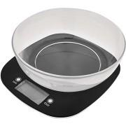EMOS EV025 digitális konyhai mérleg fekete