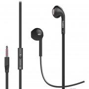 Audífonos, IN5 Auriculares Internos De 3,5 Mm En El Oído Para El Teléfono Y La Mayoría De Los Smartphones Y Tabletas De Android Para Sony Iphone Samsung (negro)