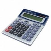 Calculator de birou alimentare duala 12 digiti afisaj mare albastru