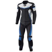 Held Spire Two Piece Motorcycle Leather Suit Kožená kombinéza dvoudílný 56 Černá Modrá