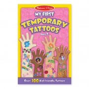 Set de tatuaje temporare Fetite, Melissa and Doug, 100 piese