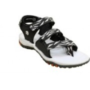 ABS Men Grey/Black Sports Sandals