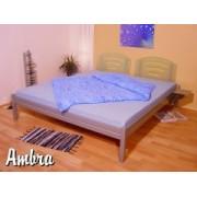 AM-07 BRA kovová postel včetně roštu a matrace