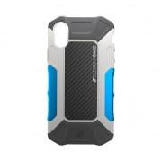 Element Etui Element Formula Etui rigide iPhone X - Gris Bleu