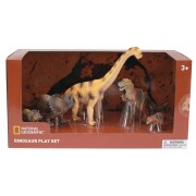 Set 5 figurine Dinozauri fiorosi National Geographic, 3 ani+