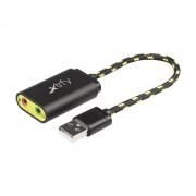 Xtrfy SC1 Externt USB-ljudkort för Gaming (DEMO)
