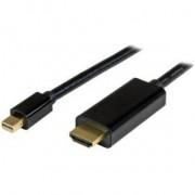 StarTech.com Mini DisplayPort-naar-HDMI-converterkabel 1 m 4K