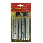 Csőkulcs készlet 6 részes 8-17mm Kód:031406