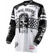 Oneal O´Neal Ultra Lite LE 70 Jersey Negro Blanco L