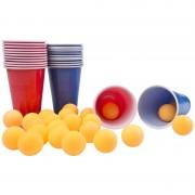 Merkloos Drinkspel Bier Pong 24 ballen
