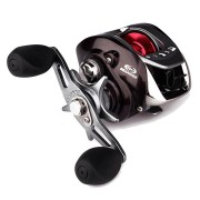 ZANLURE BLV100 II 6.3:1 10+1BB Metal Baitcasting Fishing Reel Left / Right Hand Water Drop Wheel