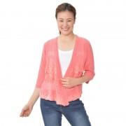 Soobinie豪華な透かし編みレース使いカーディガン【QVC】40代・50代レディースファッション