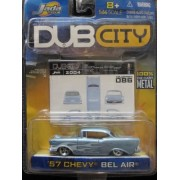 57 Chevy Bel Air Dub City 2004 Includes Collector Card #086 By Jada