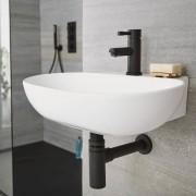 HudsonReed Siphon lavabo noir laiton - Nox