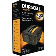 Duracell 400W Power Inverter with Dual & USB (DRINV40-UK)