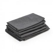 Blumfeldt Theia, tapițerie pentru perne 8 părți, 100% poliester, impermeabilă, gri închis (GDMC5-Theia Covers D)
