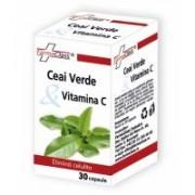 Ceai verde & vitamina c 30cps FARMACLASS