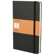 Moleskine - zápisník - linkovaný, černý L