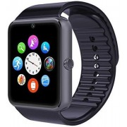 "Smartwatch iUni GT08s Plus, Capacitive touchscreen 1.54"", Procesor Dual-Core 1.2GHz, 128MB RAM, Bluetooth, Bratara silicon, Camera foto, Functie telefon (Aluminiu)"