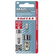 Maglite Mag LMXA601 Lámpara de repuesto de 6 celdas Xeon Mag-num Star