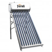 Panou solar presurizat Ferroli EcoHeat 12 cu boiler 120 litri si 12 tuburi