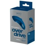 VeDO Over Drive - akkus vibrációs péniszgyűrű (kék)