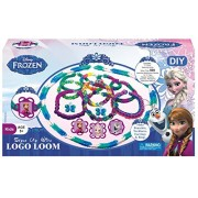 Disney Frozen DIY Multicolor Rubber Looms WITH THREE 3D Sticker (Elsa and Anna )