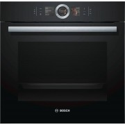 Bosch Serie 8 HBG6764B6B Single Built In Electric Oven - Black