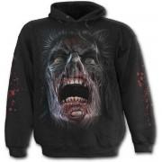 kapucnis pulóver férfi - NIGHT WALKERS - SPIRAL - DW207800