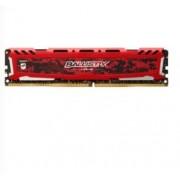 Ballistix Sport LT 16GB DDR4 2666 MT/s (PC4-21300) DR x8 DIMM 288-Pin - BLS16G4D26BFSE (Rosso)