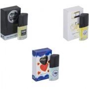 Carrolite Combo Kabra Black-Silent love-Younge Heart Blue Perfume