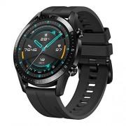 Huawei Watch Gt 2 Reloj Inteligente, 46Mm, 3D Glass Screen, Bluetooth, Negro