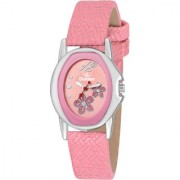 GIONEE MRT-007 ANALOG PINK DIAL WATCH - FOR GIRL'S & WOMENS