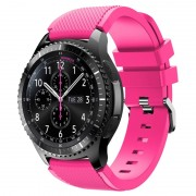 Samsung Gear S3 Silicone Sport Wristband - Hot Pink