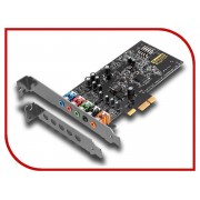 Звуковая карта Creative Sound Blaster Audigy FX PCI-eX int. Retail 70SB157000000