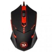 Мишка Redragon CentroPhorus, оптична (2000 dpi), USB, черна, подсветка, геймърска