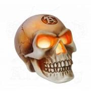 Decoraţiune ALCHEMY GOTHIC - LED Skull - V42