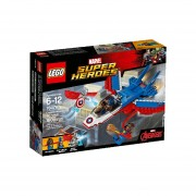 JET DEL CAPITÁN AMÉRICA LEGO 76076