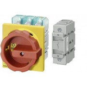 3LD2704-0TK53 + 3LD9280-0B cheie pornit-oprit , 3poli+N , 37,0Kw-100A , Tip Pacco