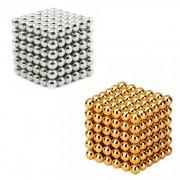 Neocube magnetic balls, sölv/guld