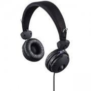 Стерео слушалки с микрофон HAMA Fun4Phone, 3.5 мм жак, 20Hz - 20 000Hz, 1.2 м кабел, черен, HAMA-184016