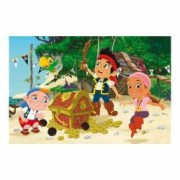 Puzzle 2 in 1 - Jake si piratii 66 piese