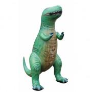 Opblaas T-Rex dino groen 152 cm