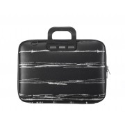 Bombata Medio Laptoptas 13 inch Black / White