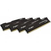 HYPERX Memoria RAM KINGSTON DDR4 16GB 2400 MHz DDR4 CL15 HyperX FURY( Kit de 4)