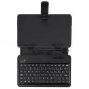 """Папка с клавиатура - GENIUS за 7"""" таблети,micro USB - 31310061101"""