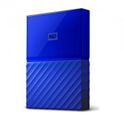 WESTERN DIGITAL External HDD|WESTERN DIGITAL|My Passport|1TB|USB 3.0|Colour Blue|WDBYNN0010BBL-WESN